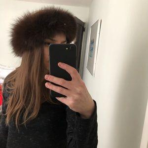Accessories - AUTHENTIC FUR headband/hat